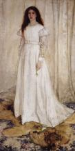 James M Whistler - Symphony in White No 1 - The White Girl (1862)