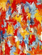 Jasper Johns - False Start (1959)