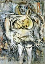 Willem De Kooning - Woman III (1953)