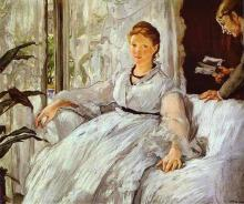 Edouard Manet - The Reading