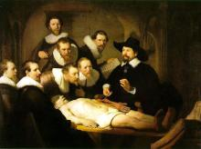 Rembrandt - The Anatomy Lesson of Dr Tulp