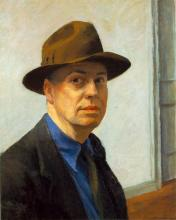 Edward Hopper - Self Portrait (1930)