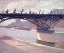 Edward Hopper - Le Pont Des Arts (1907)