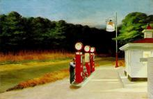 Edward Hopper - Gas (1940)