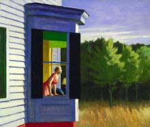 Edward Hopper - Cape Cod Morning (1950)