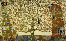 Gustav Klimt - The Tree Of Life (Stoclet Palace)