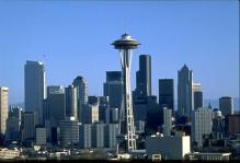 Seattle - Skyline and Space Needle