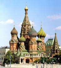 Moscow - St Basils Cathedral - Red Square