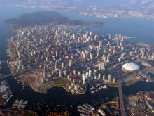 Vancouver - Aerial view
