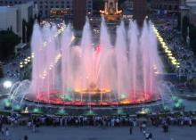 Barcelona - Montjuic Magic Fountain