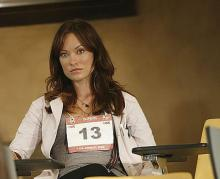 Olivia Wilde - The thirteenth contestant for the job as House's assistant