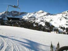 Alta, Utah - Crooked Mile (green off Sunnyside)