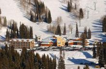 Grand Targhee, Wyoming - Base Area