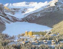 Lake Louise, Alberta - Fairmont Chateau Hotel