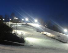 Crystal Mountain, Michigan - Emmy and Main Street Night Skiing