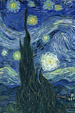 Van Gogh -  Wallpaper #3 320 x 480 (iPhone/iTouch)
