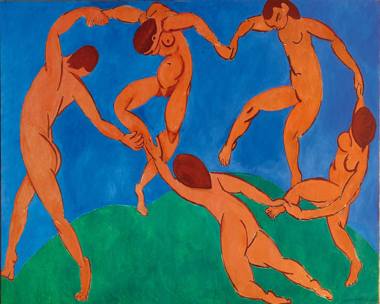Henri Matisse - The Dance Wallpaper #2 1280 x 1024