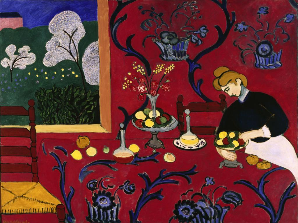 Henri Matisse - The Red Room Wallpaper #1 1024 x 768