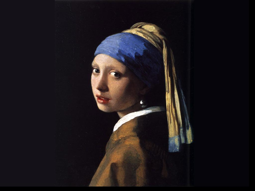 Johannes Vermeer - Girl with a Pearl Earring Wallpaper #4 1024 x 768