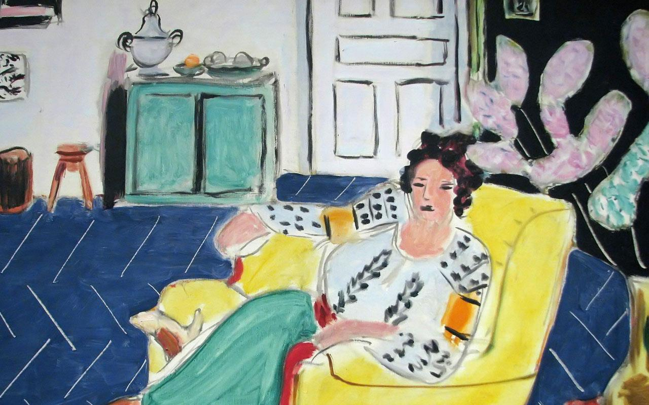 Henri Matisse - Woman Seated in an Armchair Wallpaper #4 1280 x 800