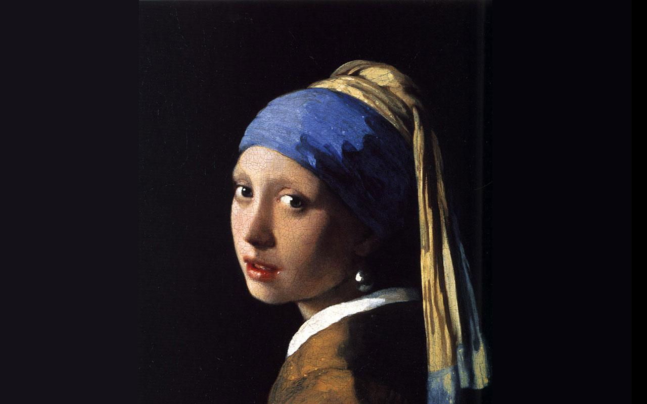 Johannes Vermeer - Girl with a Pearl Earring Wallpaper #4 1280 x 800