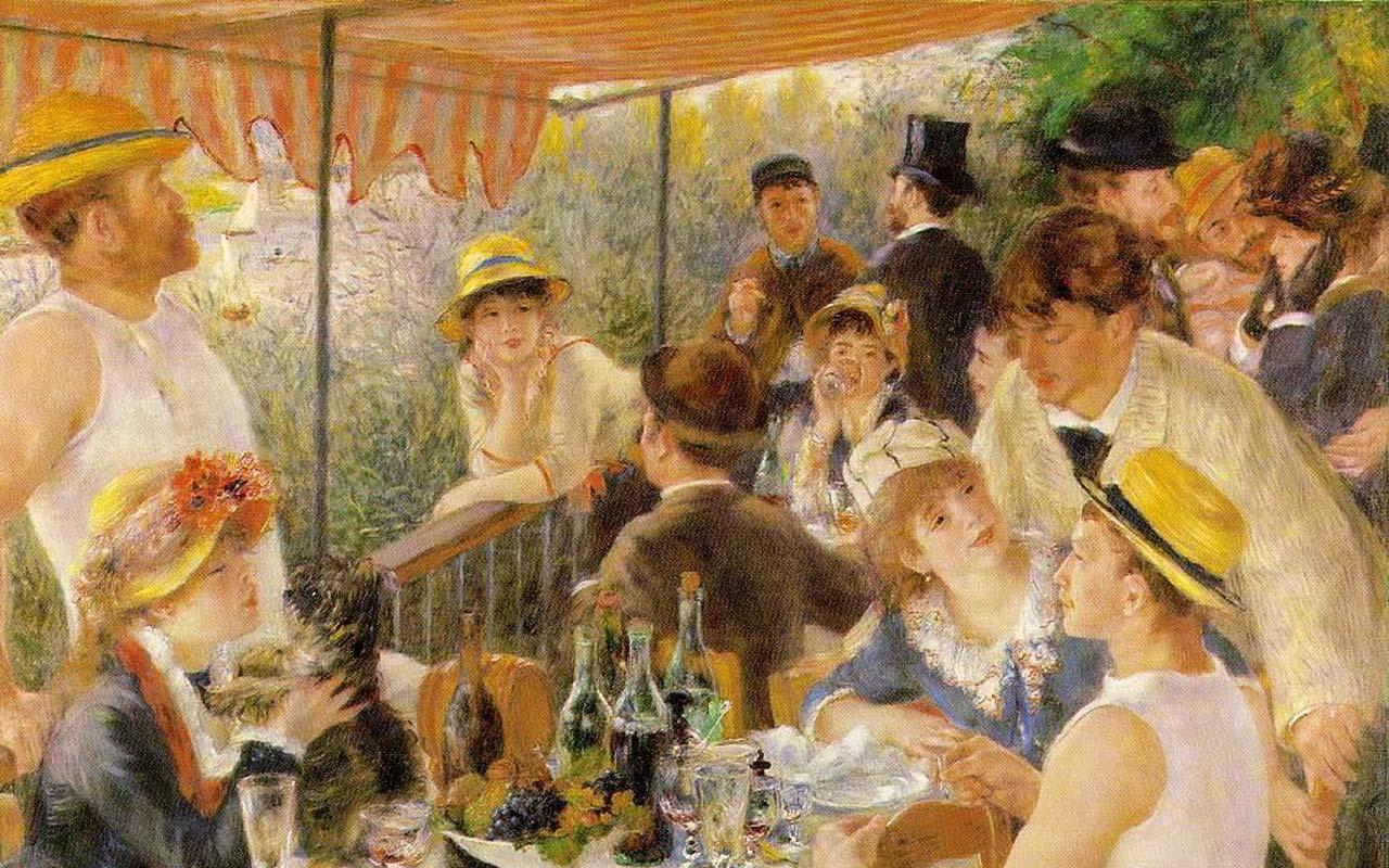 Auguste Renoir - The Luncheon of the Boating Party Wallpaper #4 1280 x 800