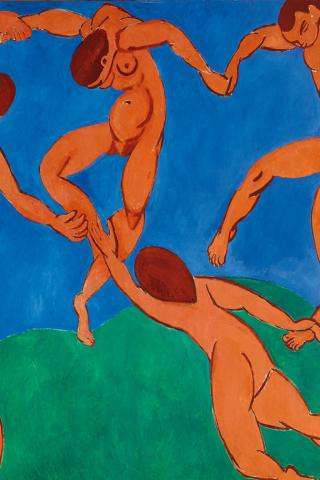 Henri Matisse - The Dance Wallpaper #2 320 x 480 (iPhone/iTouch)
