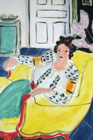 Henri Matisse - Woman Seated in an Armchair Wallpaper #4 320 x 480 (iPhone/iTouch)