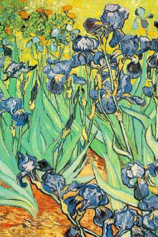 Van Gogh -  Wallpaper #1 320 x 480 (iPhone/iTouch)