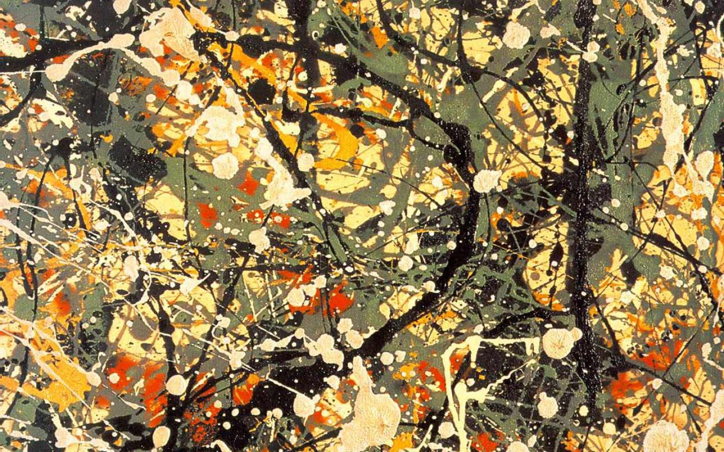 Jackson Pollock - Number 8 (1949) Wallpaper #3 1440 x 900