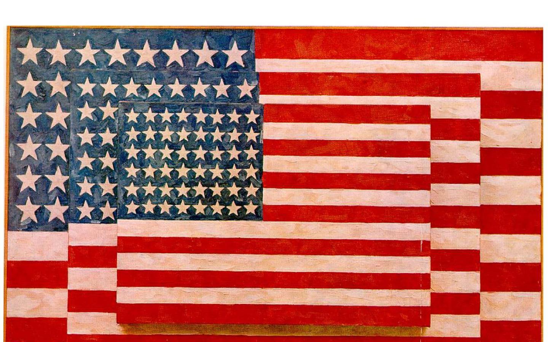 best artist   jasper johns   3 flags 1958 1440x900