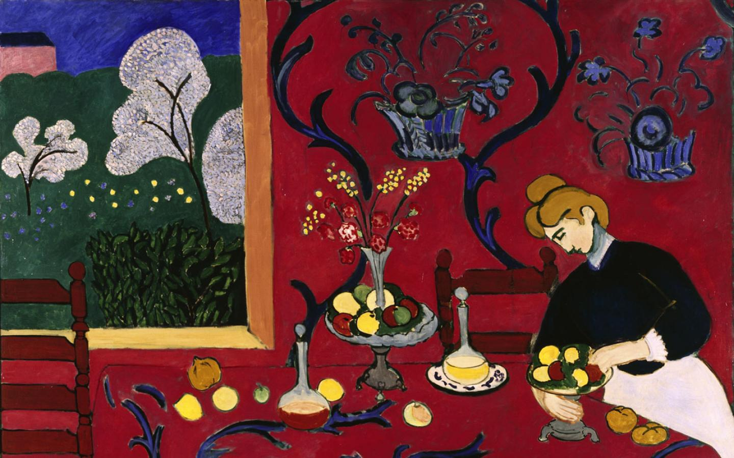 Henri Matisse - The Red Room Wallpaper #1 1440 x 900