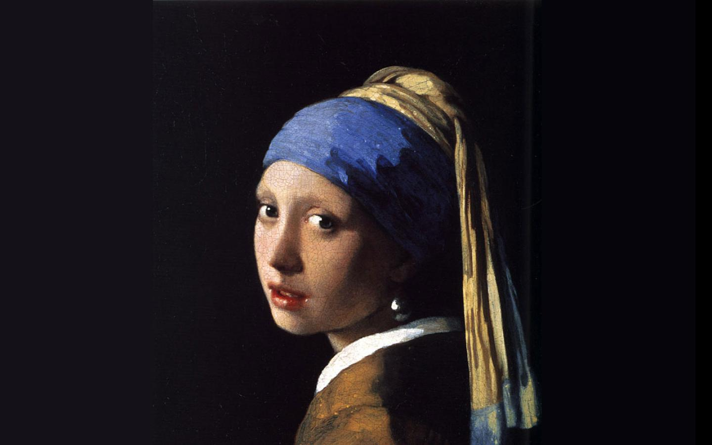 Johannes vermeer girl with a pearl earring 1440x900 wallpaper 4