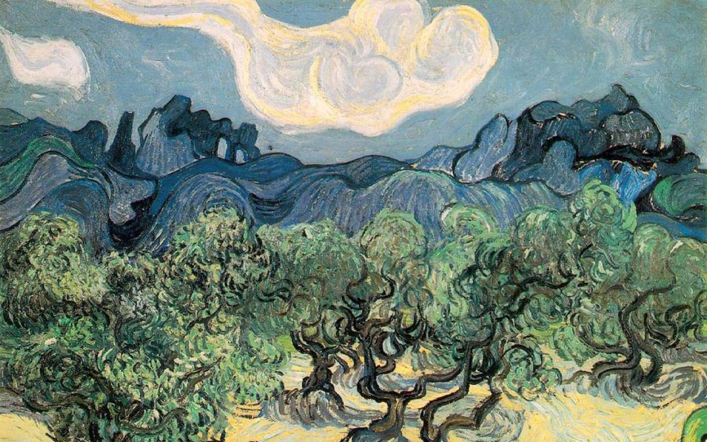 Van Gogh -  Wallpaper #2 1440 x 900