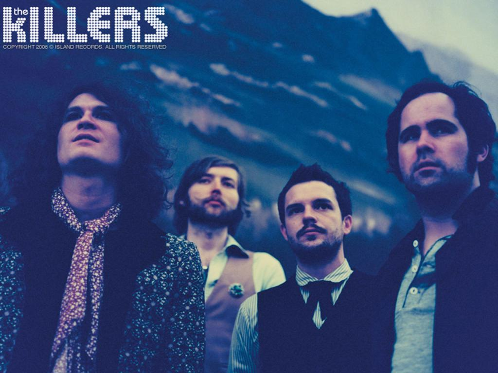 The Killers Wallpaper #3 1024 x 768.