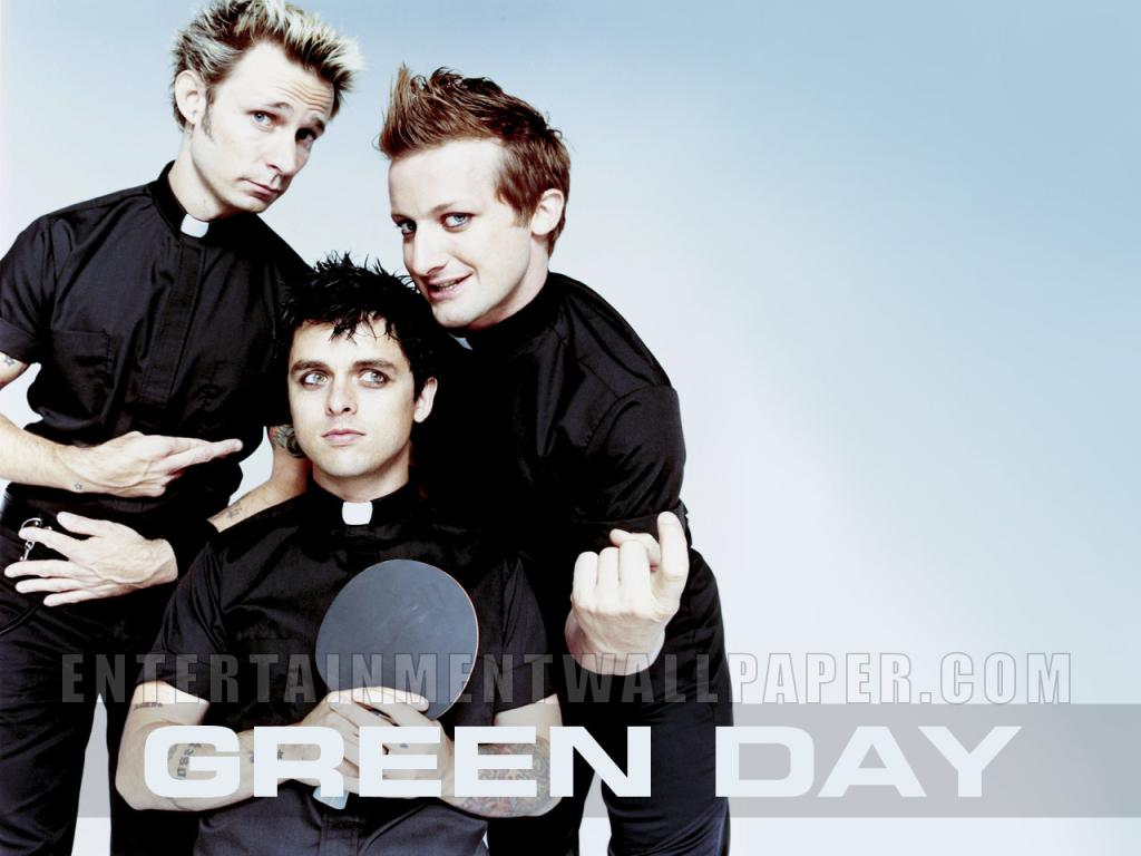 Green Day Wallpaper #2 1024 x 768
