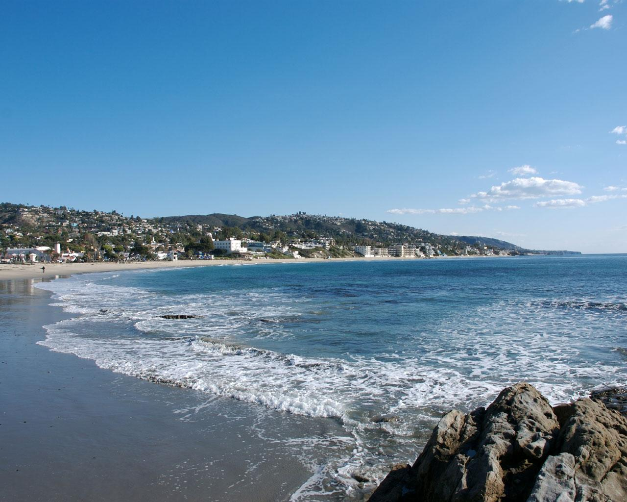 Main Beach - Laguna Beach Wallpaper #1 1280 x 1024