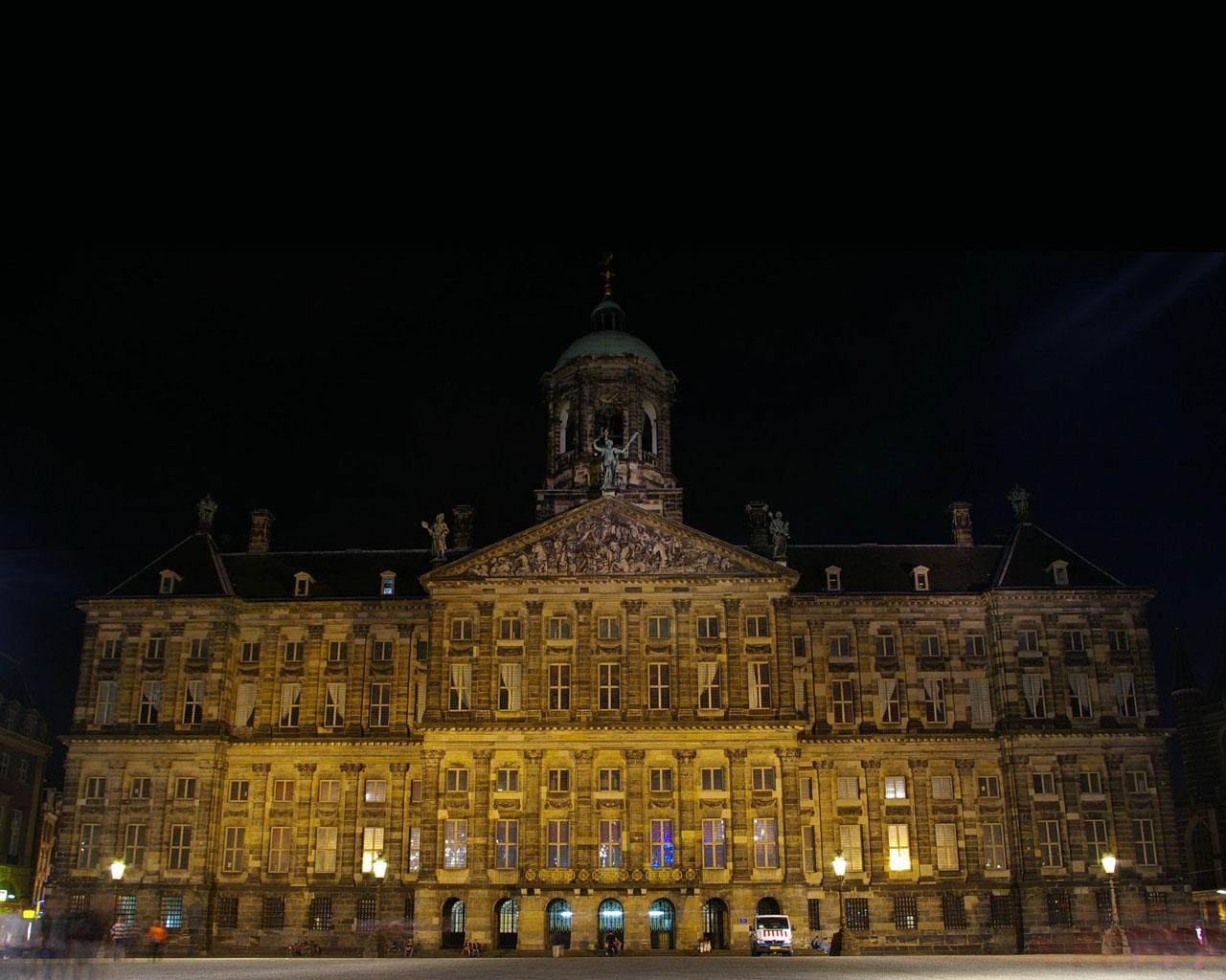Amsterdam - Royal Palace Wallpaper #2 1280 x 1024