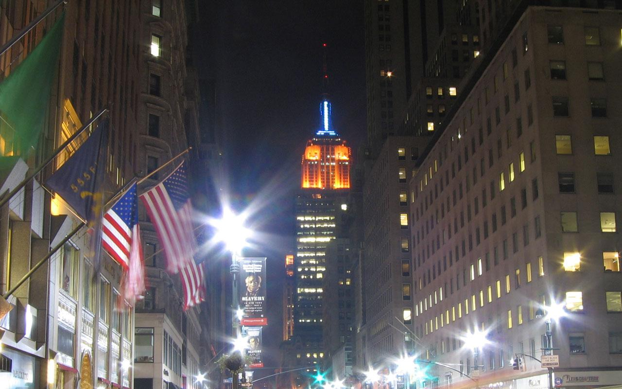 New York - Empire State Building Wallpaper #2 1280 x 800