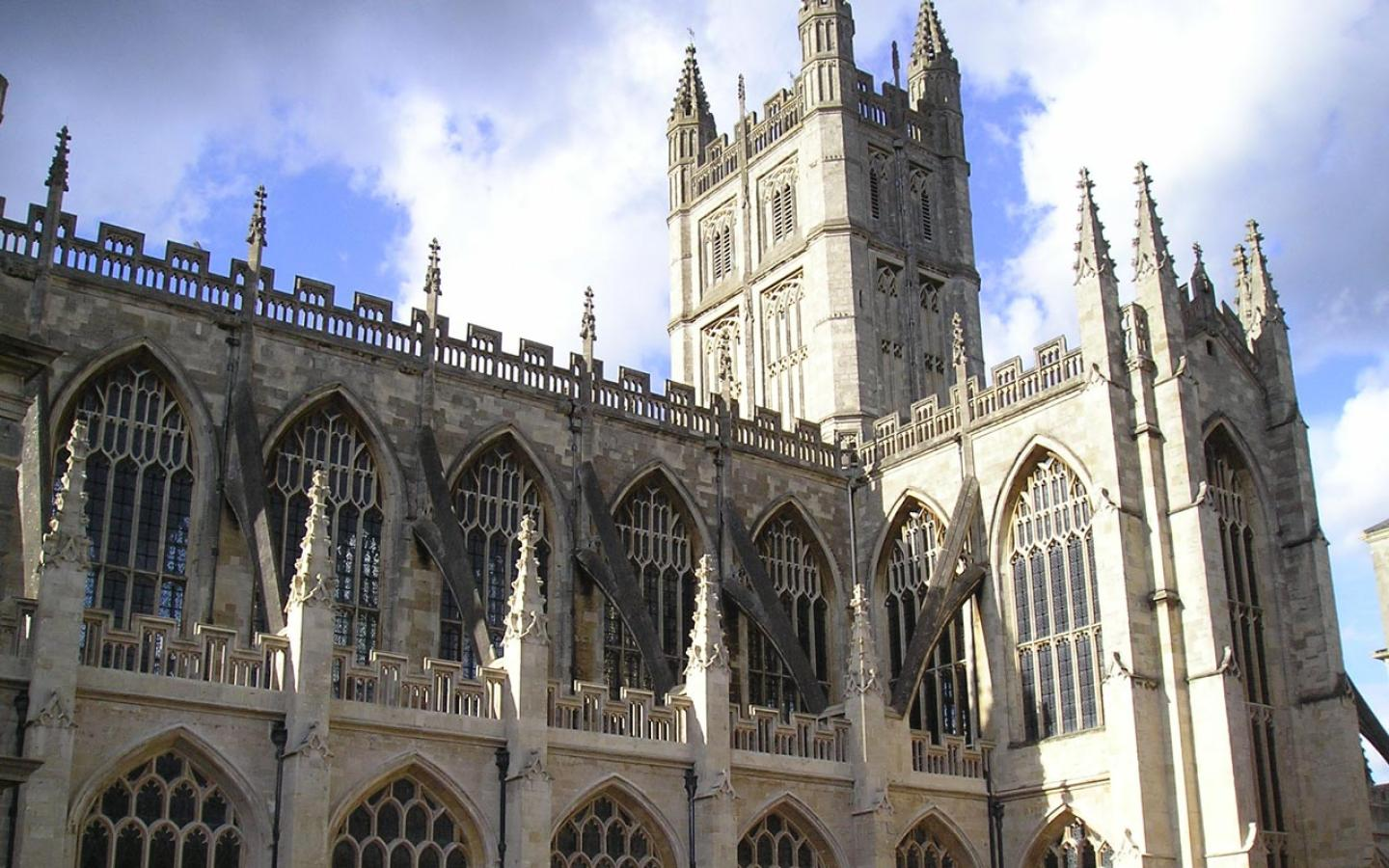 Bath - The Abbey Wallpaper #4 1440 x 900
