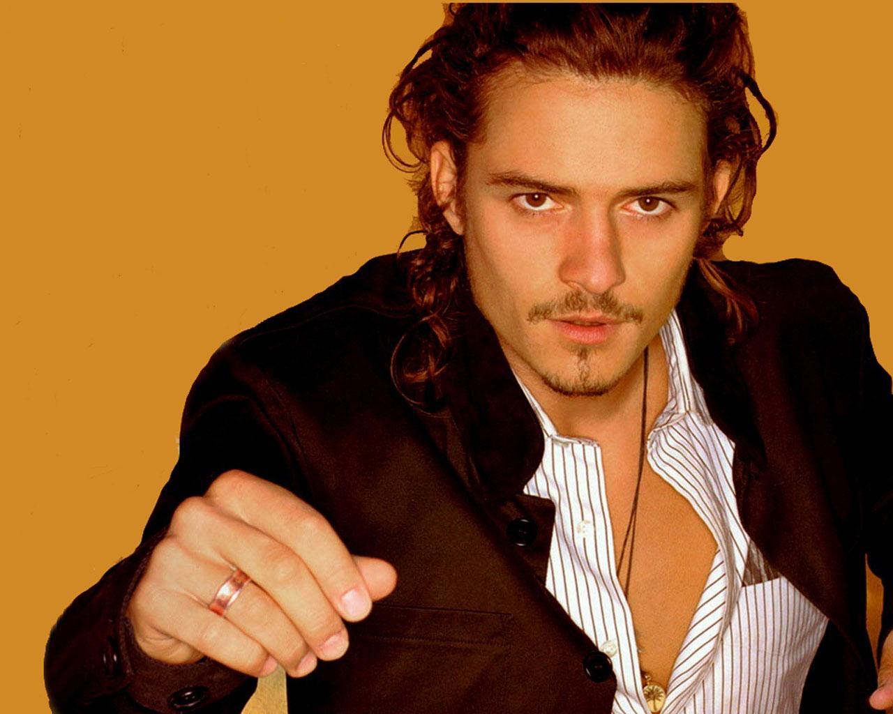 Best looking man - Orlando Bloom 1280x1024 Wallpaper #4