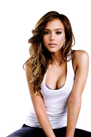 Jessica Alba -  Wallpaper #3 320 x 480 (iPhone/iTouch)