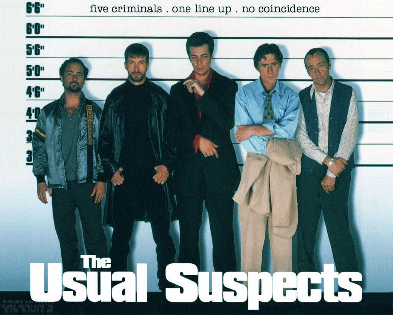 The Usual Suspects Wallpaper #1 1280 x 1024