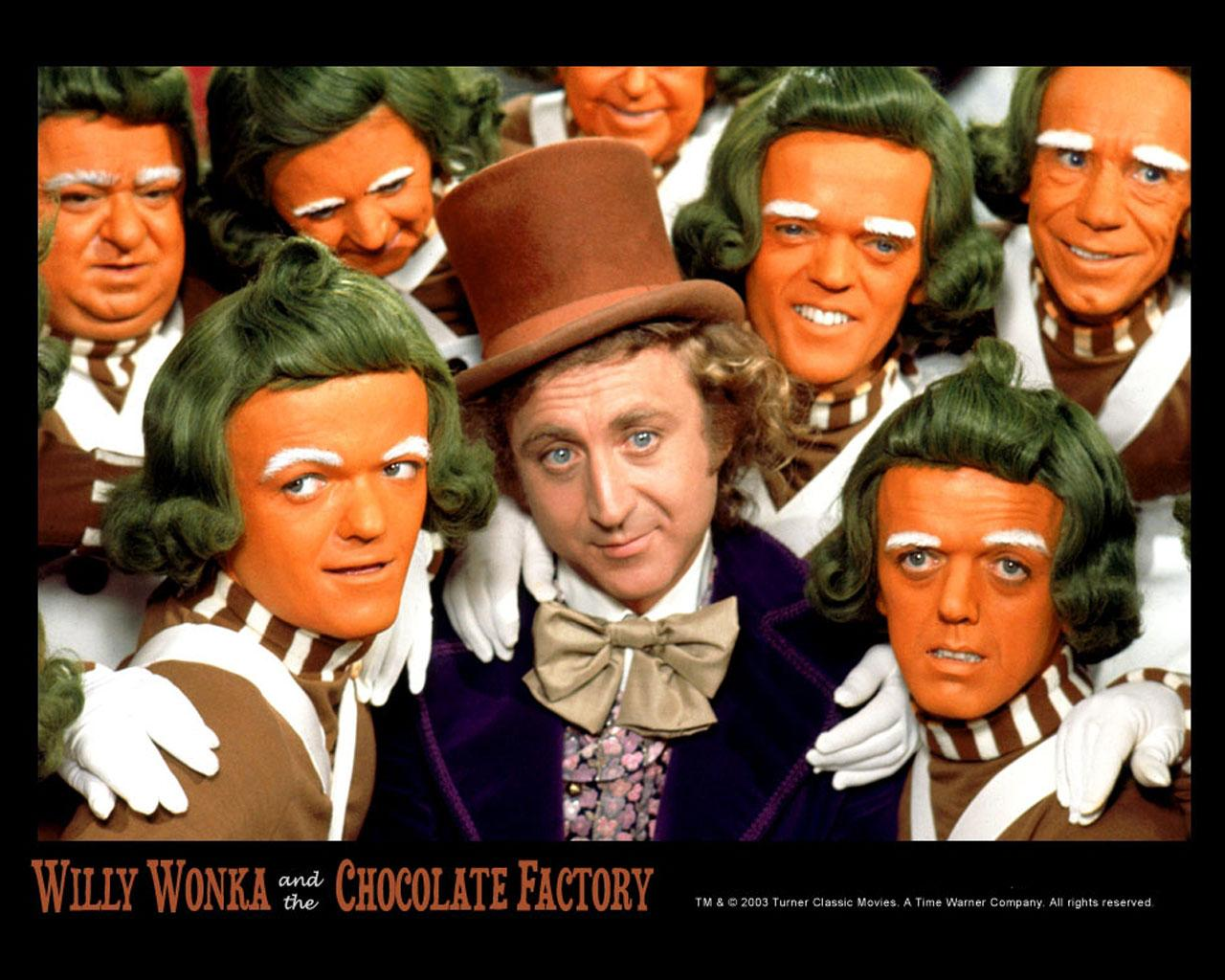 Willy Wonka & The Chocolate Factory -  Wallpaper #1 1280 x 1024