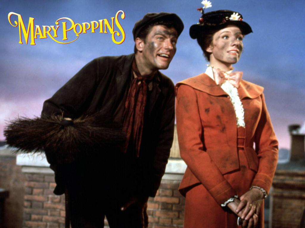 Best movie mary poppins 1024x768 wallpaper 1 - Mary poppins wallpaper ...