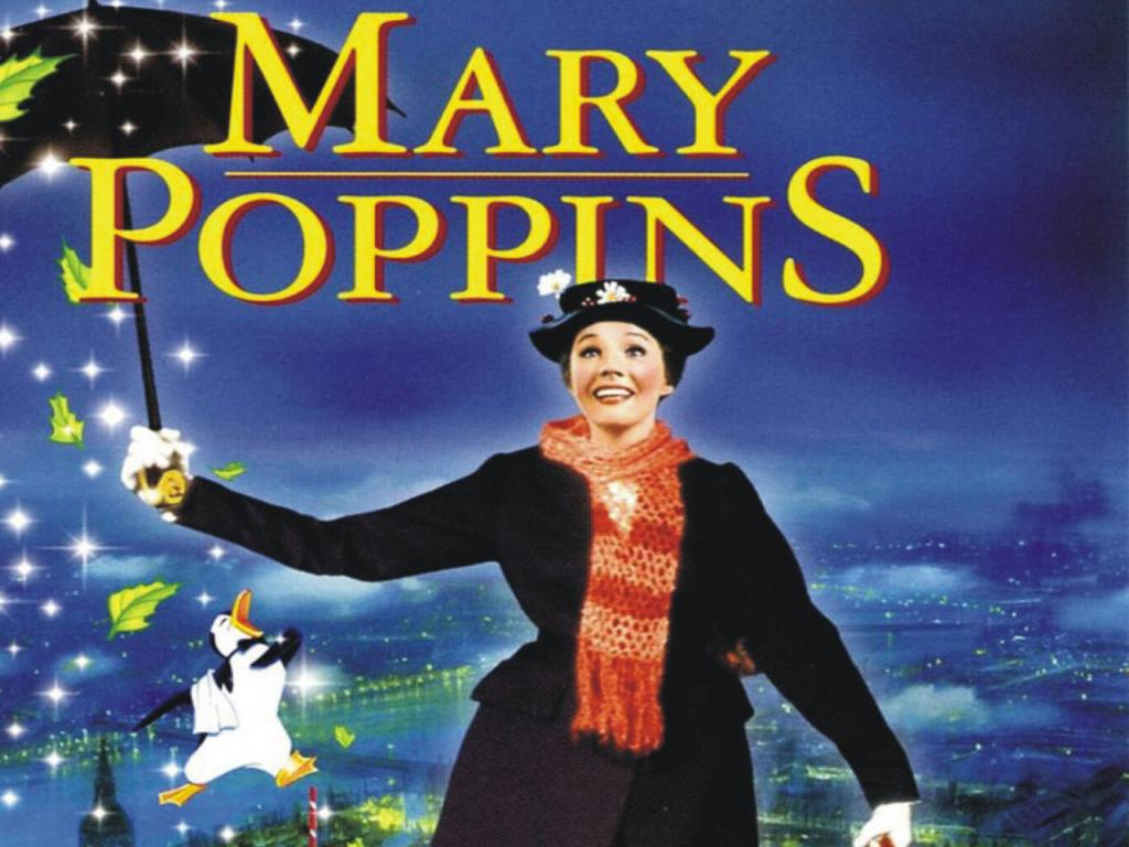 Best movie - Mary Poppins 1024x768 Wallpaper #3