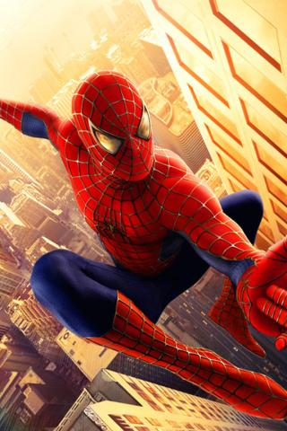 Spider-Man -  Wallpaper #1 320 x 480 (iPhone/iTouch)
