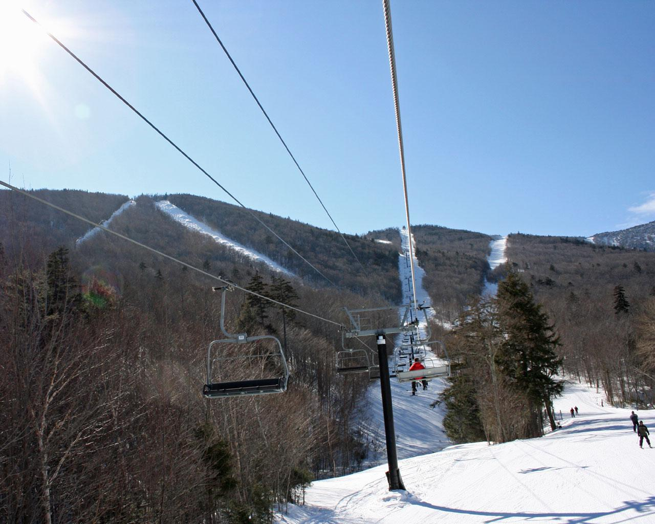 Sugarbush, Vermont - Super Bravo Lift Wallpaper #2 1280 x 1024