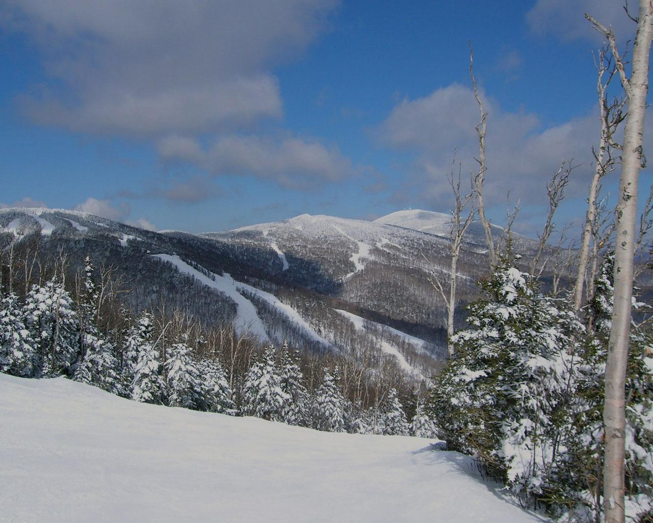 Killington, Vermont - View from Bittersweet trail to Snowdon Mtn Wallpaper #3 1280 x 1024