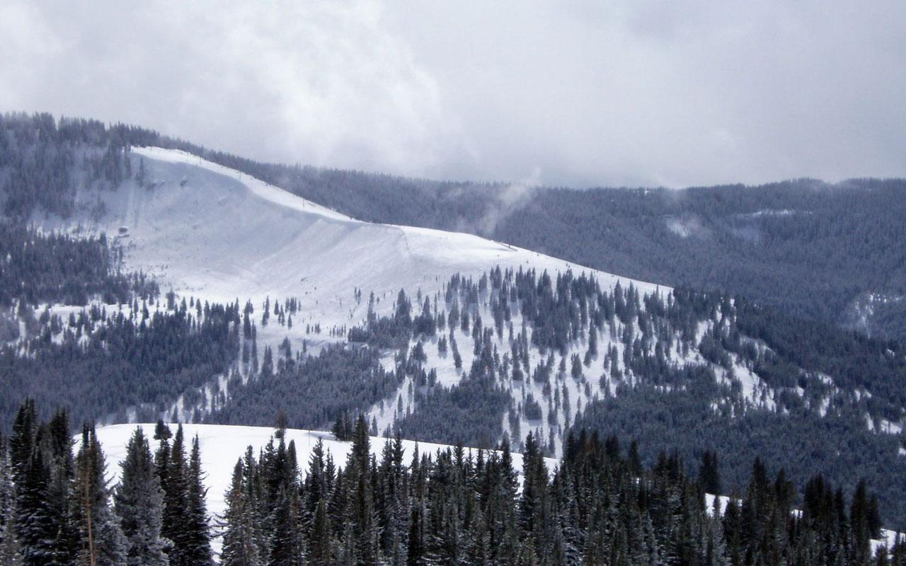 best ski resort - vail, colorado 1280x800 wallpaper #1
